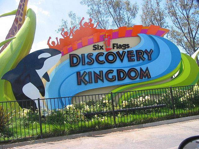 Six Flags Discovery Kingdom Vallejo Ca Spring Break Fun Kids Vacation Cross Country Trip