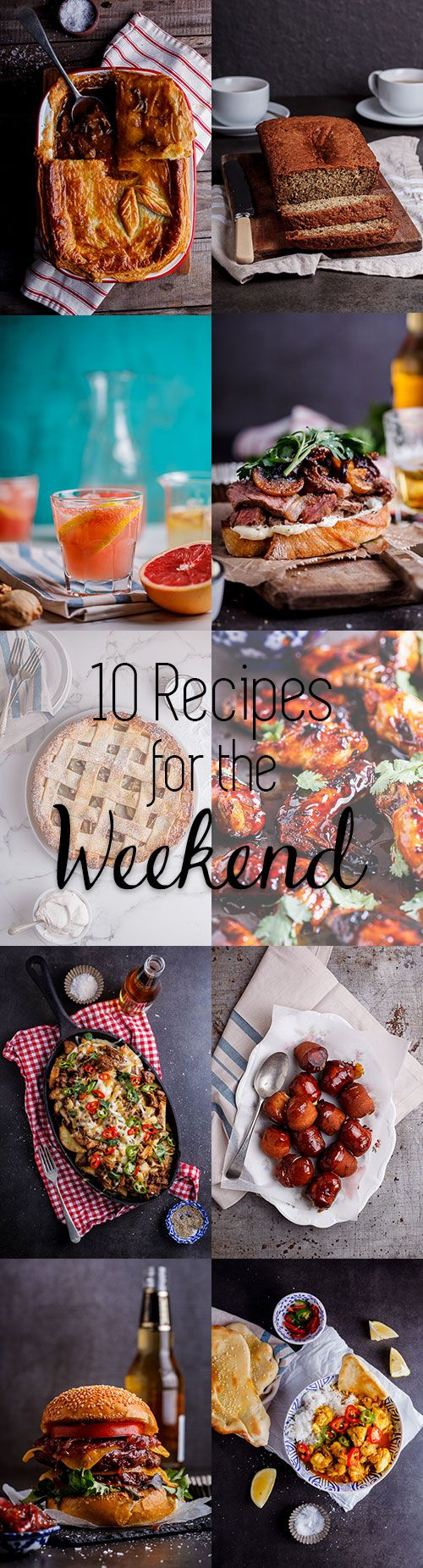 10 Recipes for the weekend