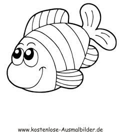 Ausmalbilder Fische Gratis Ausmalbilder Fur Kinder Ausmalbilder Ausmalbilder Fische Malvorlage Fisch