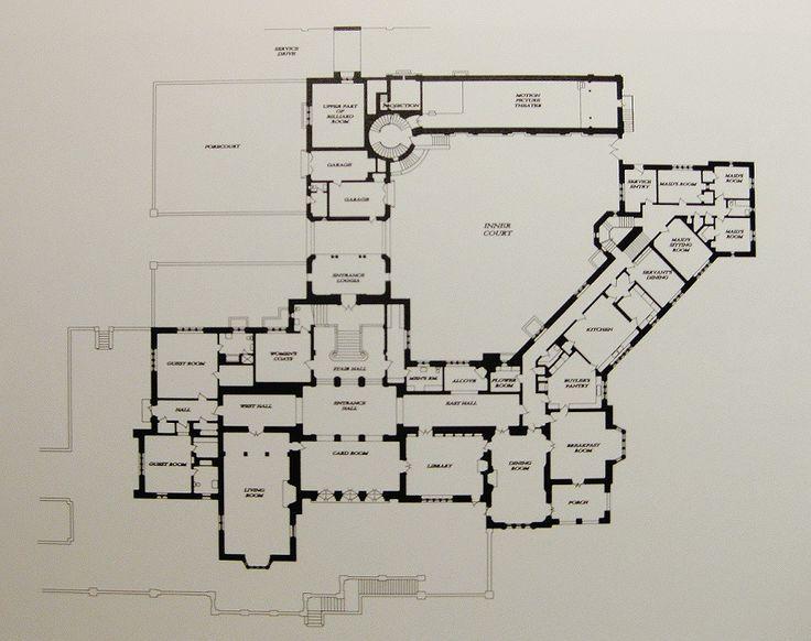 greystone mansion - Google Search | Floor plans | Pinterest ...