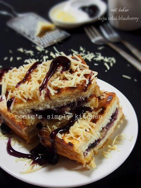 Roti Bakar Keju Makanan Makanan Enak Makanan Jalanan