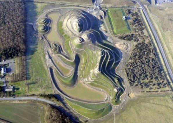 Northumberlandia reclaimed earthwork.  http://www.morpethherald.co.uk/lifestyle/tourism-chief-praises-stupendous-sculpture-1-4303018