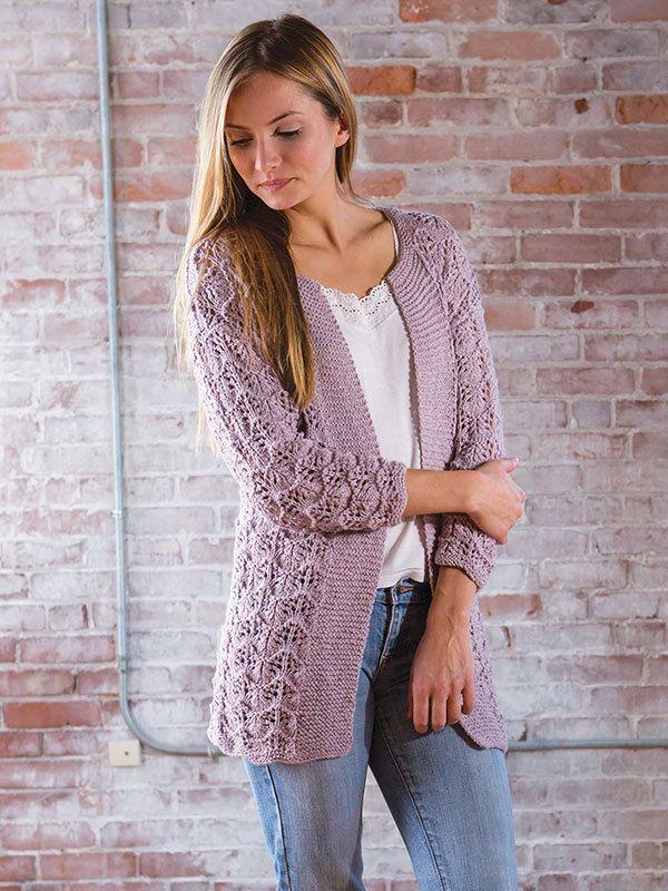 Berroco Maya Gwendoline Cardigan Knitting Pattern 359 PDF ...