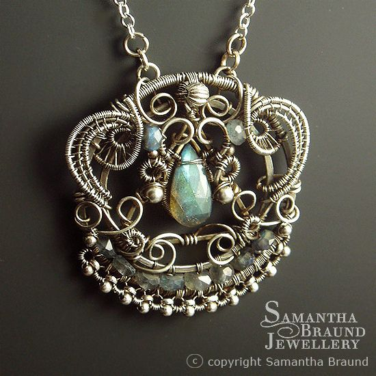 Lakshmi Goddess Necklace II by Samantha_Braund, via Flickr