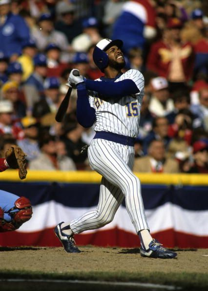 46423a49139 Cecil Cooper - 1982 World Series | Milwaukee Brewers | Milwaukee ...