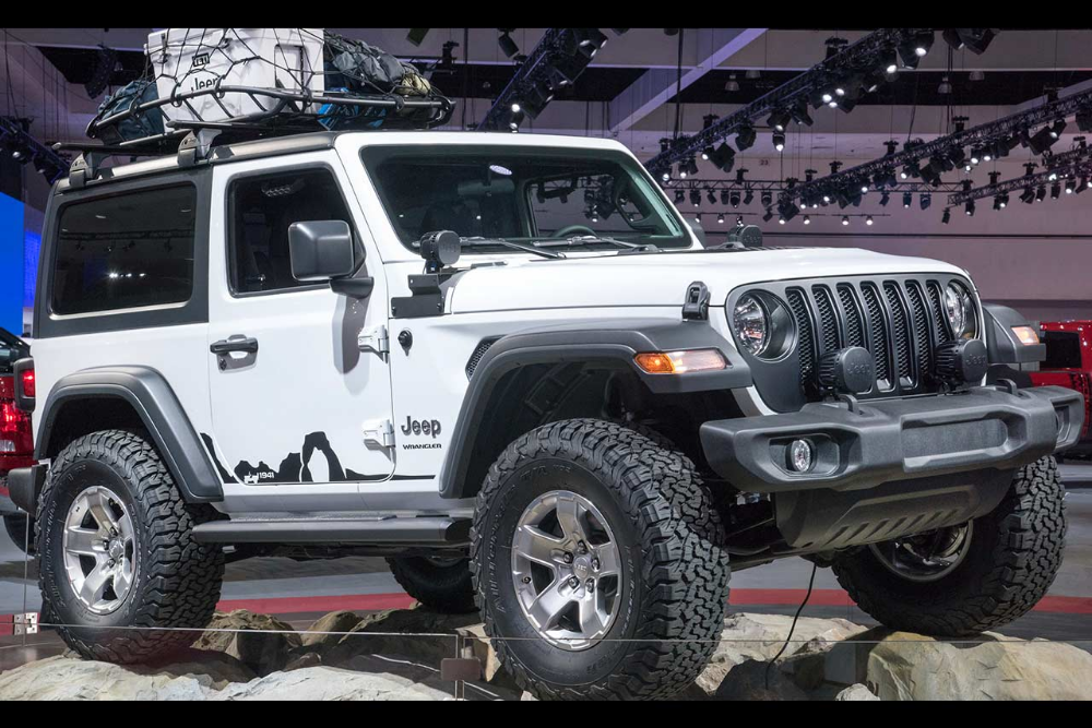 2018 Jeep Wrangler Sport Mopar And Jeep Performance Parts 2020