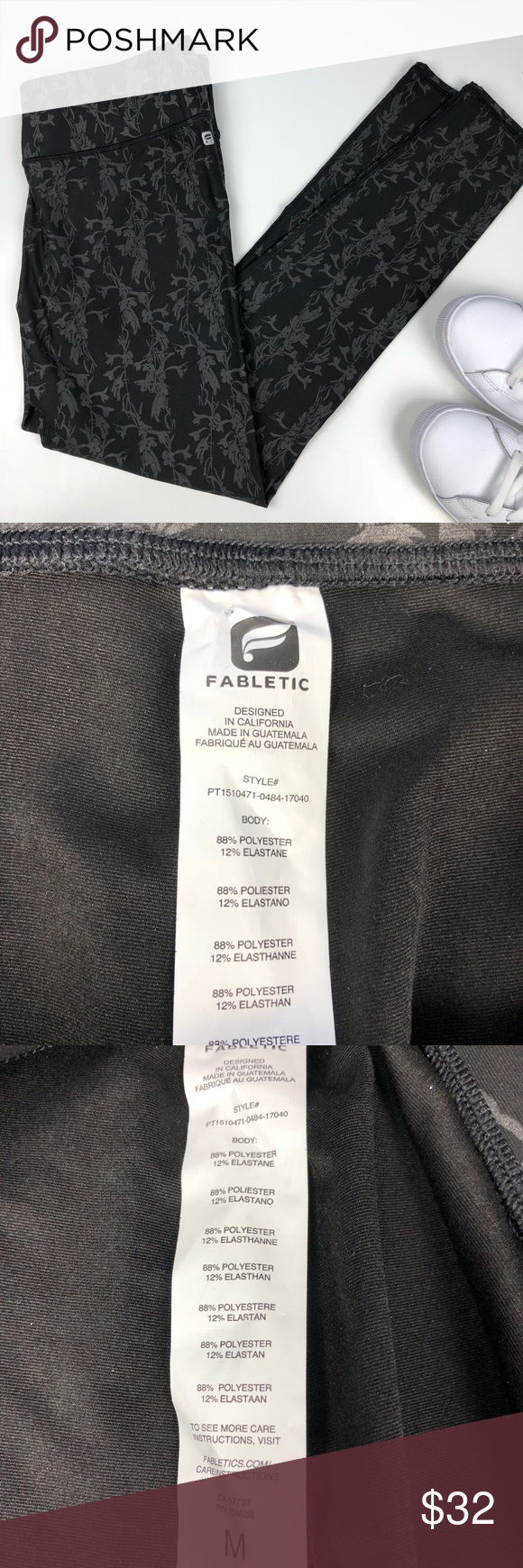 d07320713fcd4 Heavyweight fabric- feels amazing! High waisted ankle length. Rise 9.5,  inseam 27. Fabletics Pants Leggings