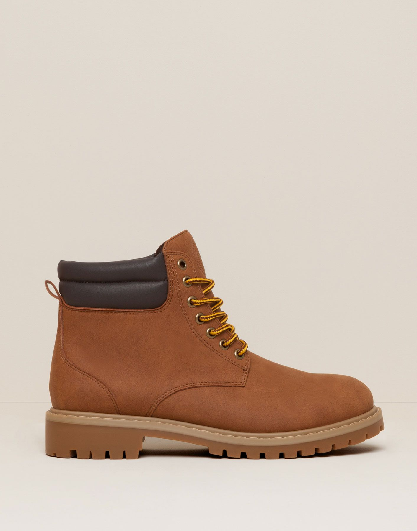 Bota Urbana Botas Y Botines Zapatos Pull Bear Colombia Boots Timberland Boots Shoes