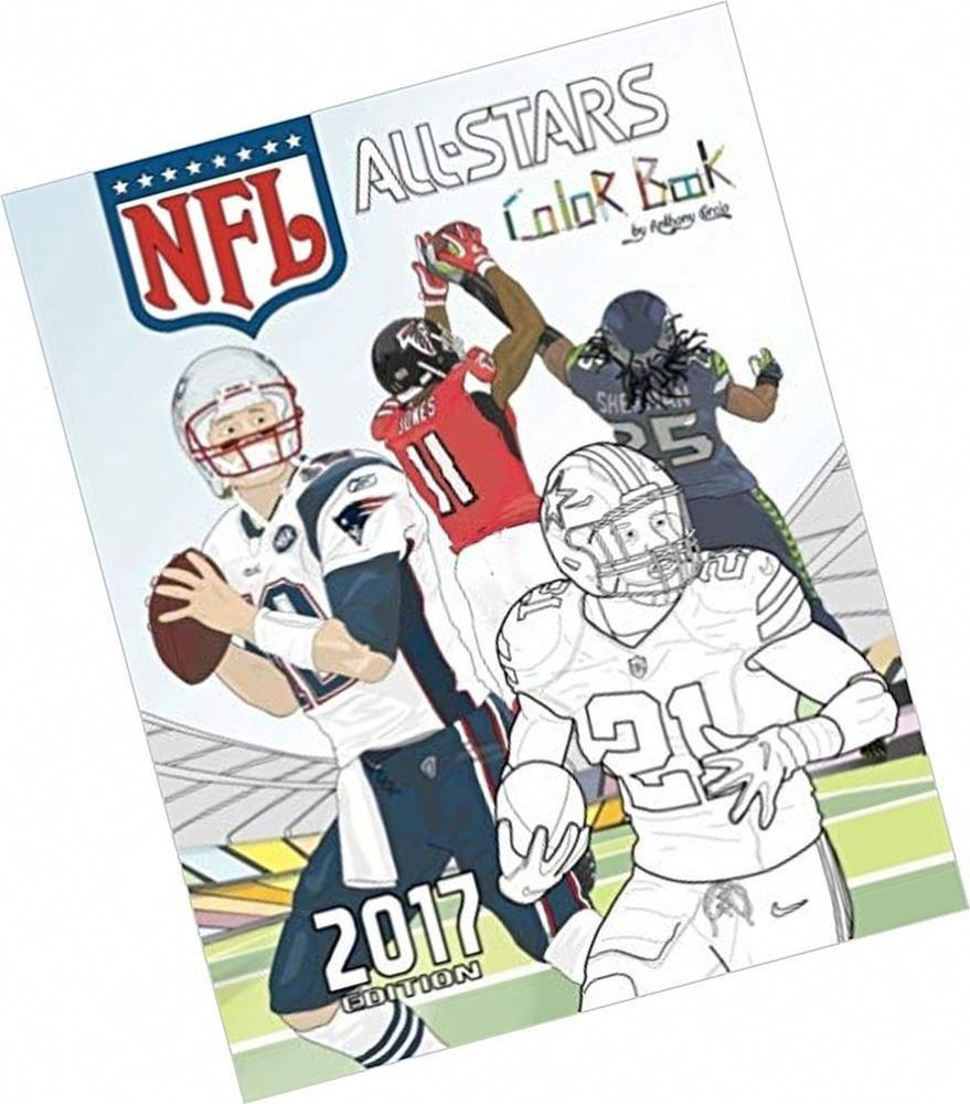 a8a9d535d6a NFL All Stars 2017  Coloring and Activity Book for Adults and Kids  feat.  Eze...  hobbiesforadults