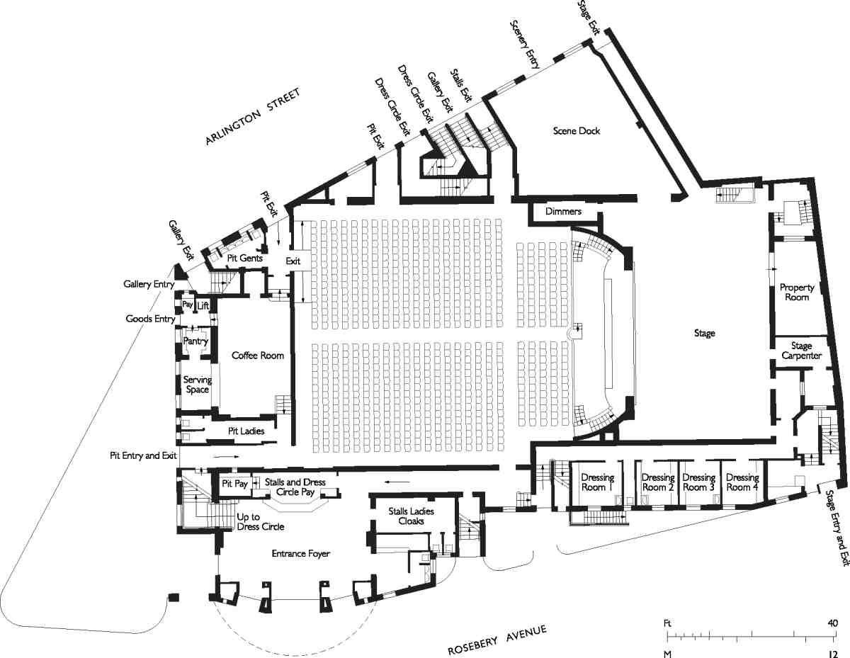 Image Result For Sadler S Wells Stage Plan