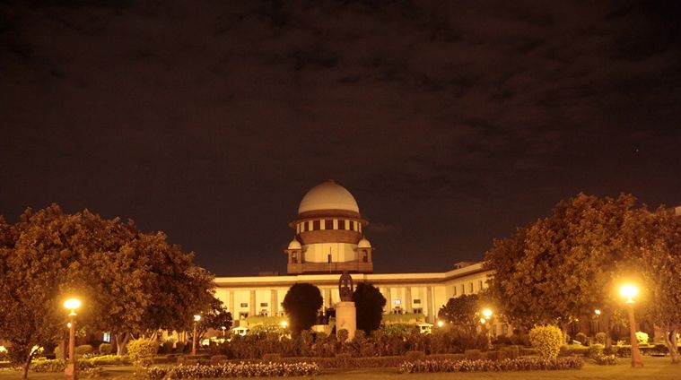 Supreme Court of India. Express Photo by Amit Mehra.