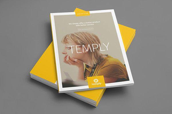 35+ Beautiful Modern Brochure & Folder Design Ideas 2014 ...