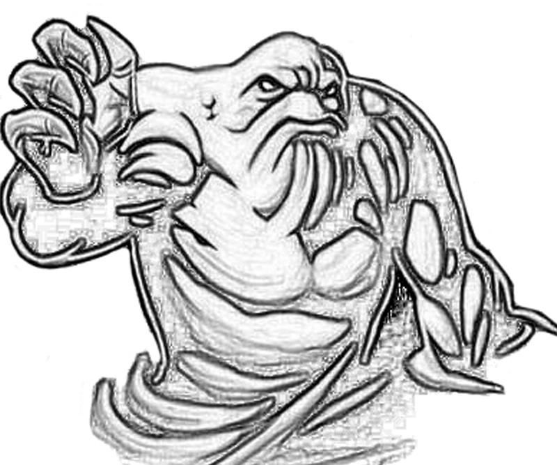 Printable Batman Arkham City Clayface Character Coloring Pages ...