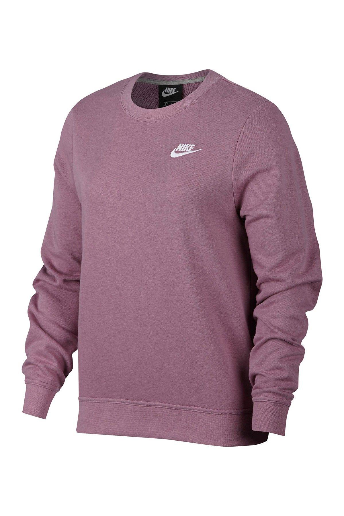 Nike Club Crew Neck Sweater Nordstrom Rack Crewneck Sweatshirt Outfit Crewneck Sweatshirt Women Sweatshirt Outfit [ 1800 x 1200 Pixel ]