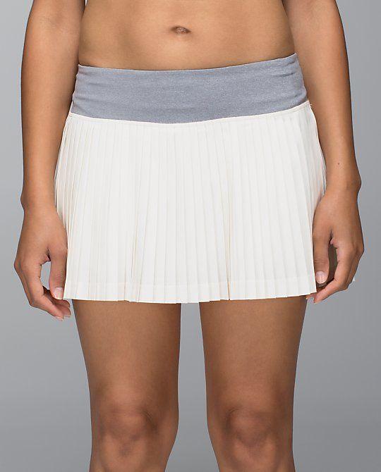 81b1582974 Lululemon Pleat to Street Skirt II Color: Ghost Heathered Slate Color Code:  Cost: