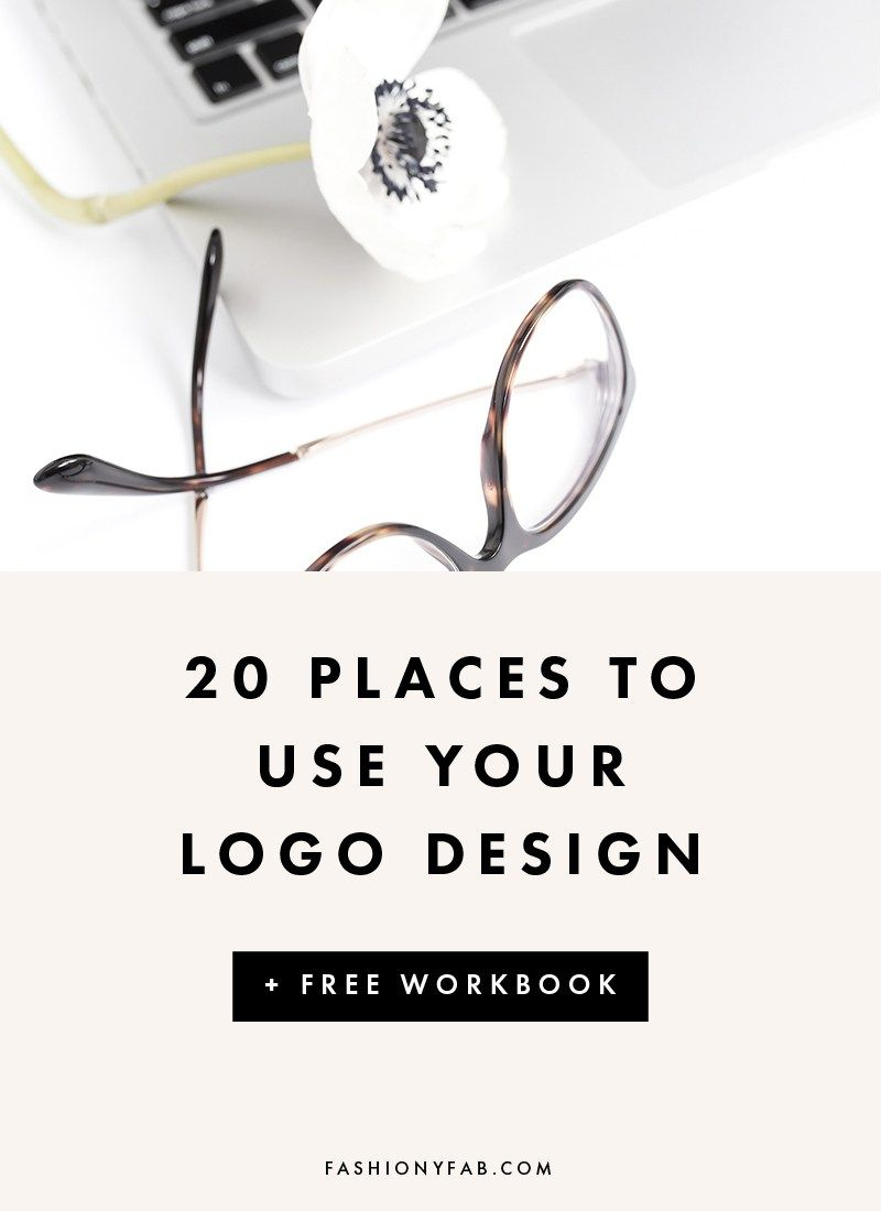 20 Places to Use your Logo to Make an Impact | Brand guide, Business ...
