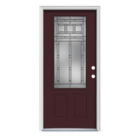 Reliabilt 3 4 Lite Prehung Inswing Steel Entry Door
