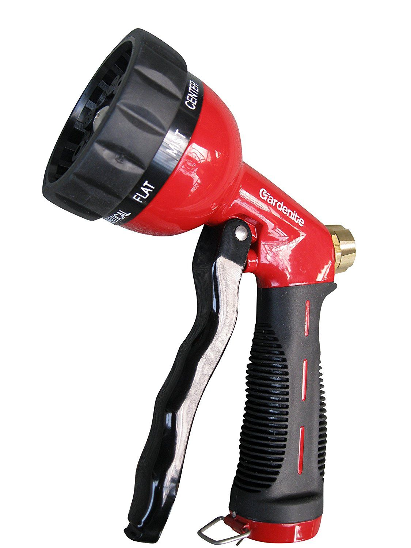 Amazon Com Garden Hose Nozzle Hand Sprayer Heavy Duty 10