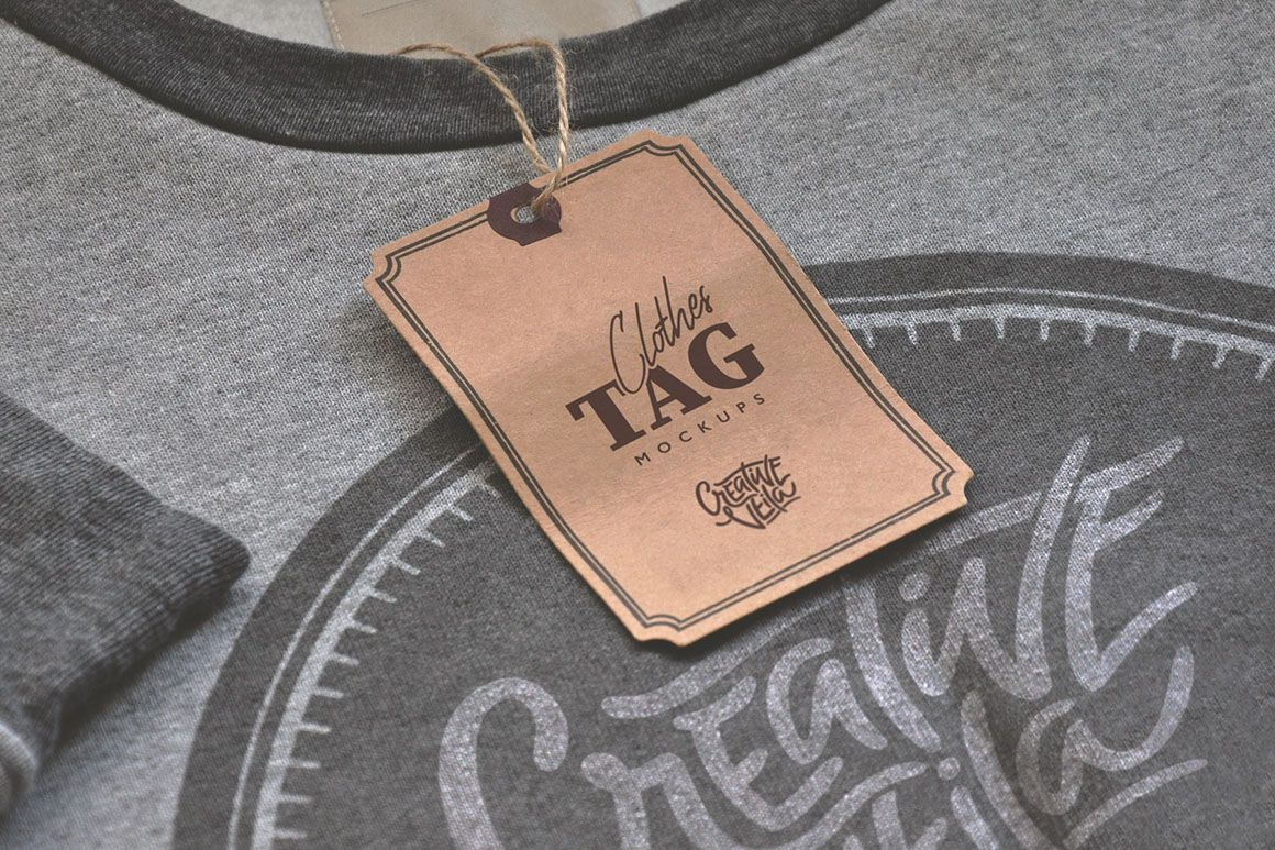 Download Clothing Tags Mockup Free Yellow Images