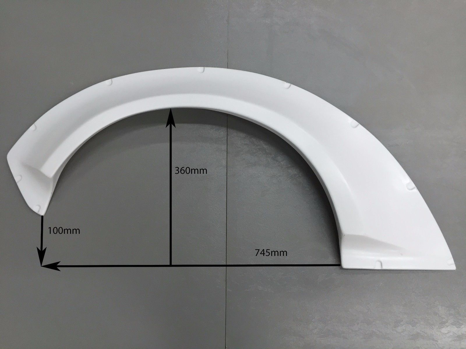 Universal Fender Flares Quot Mons Quot 70 Mm Abs Ford Focus