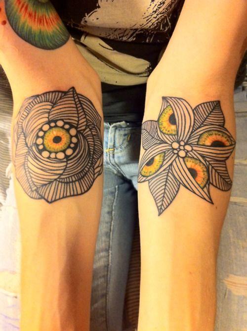 line art tattoo loooove