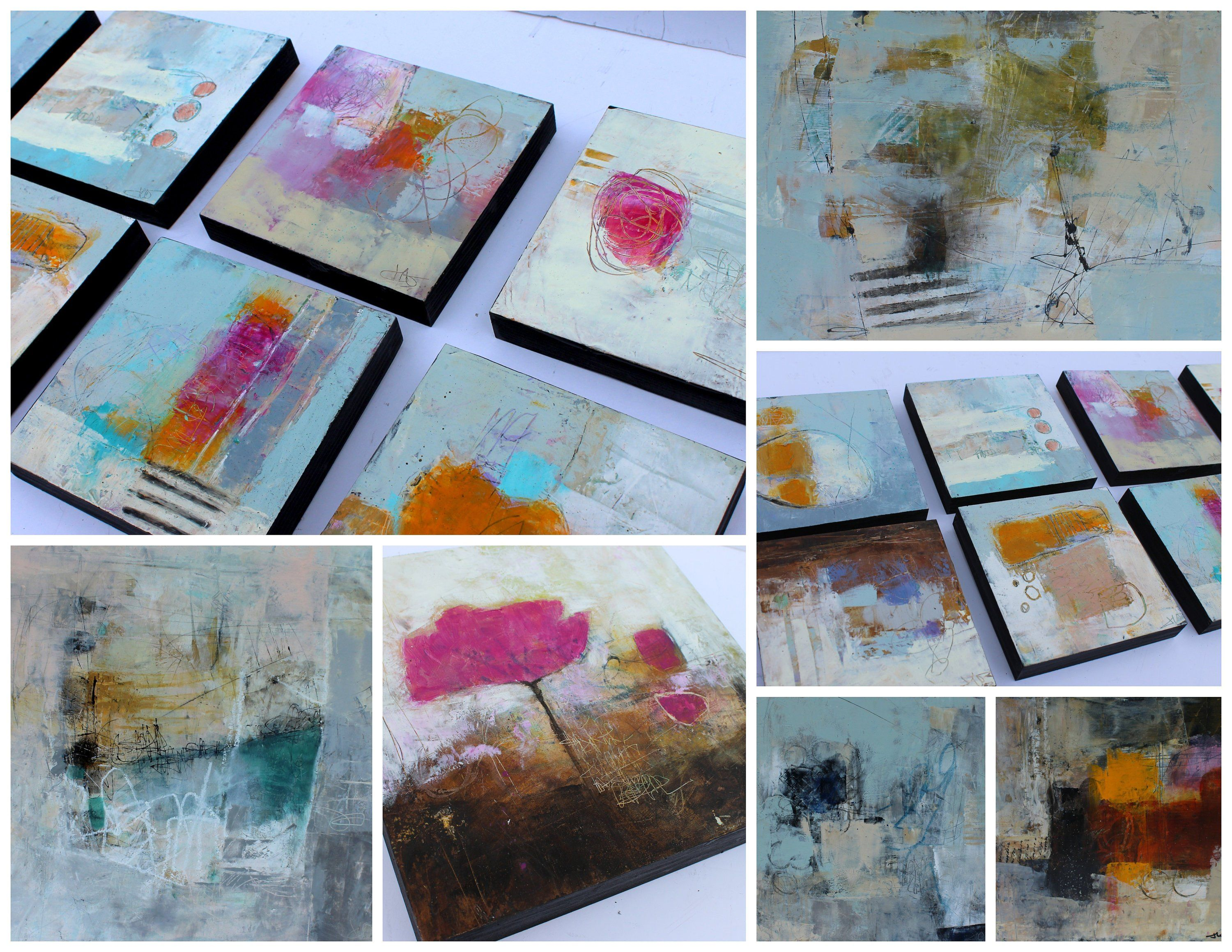 New E Course Now Open Abstracts In Coldwax And Oil Painting