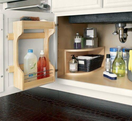 Waypoint's style 610D in Maple Linen | Kitchen cabinet