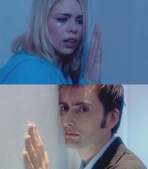 Doctor Who (Rose is forced to leave the Doctor) I cried like a baby :(