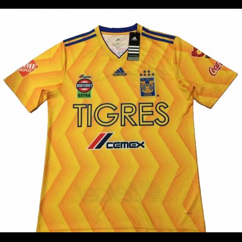 e8af42b1a 18-19 Tigres UANL Home Soccer Jersey Shirt