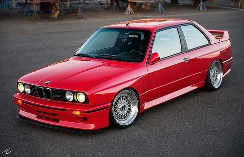 BMW E30 M3 >> Bmw E30 M3 Red Koni Koniimproved Koniexperience Bmw E30