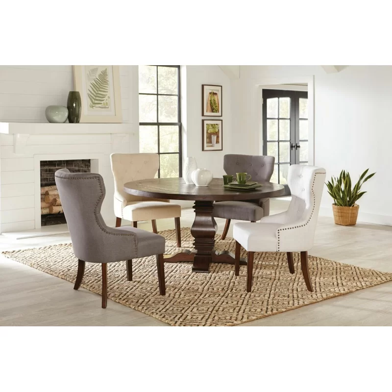 Bewdley Solid Wood Dining Table Wood Dining Table Solid Wood Dining Table Round Pedestal Dining Table