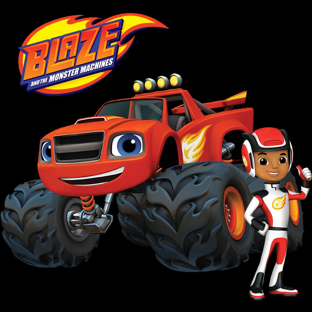 Blaze Full Episodes Games Videos On Nick Jr Cars Theme Birthday Party Blaze Birthday Blaze And The Monster Machines Cake