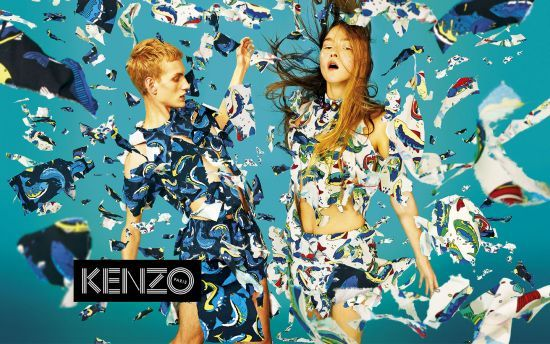KENZO campaign gets animated! - Kenzine, the Kenzo official blog