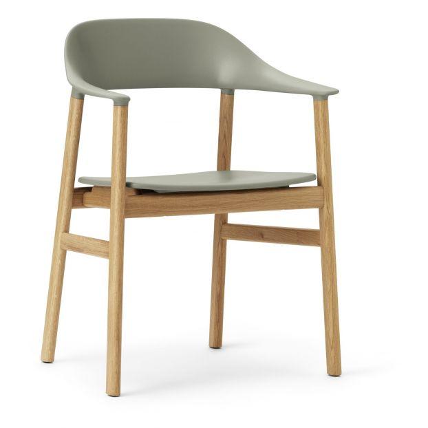Sessel Herit Aus Eiche Mandelgrun Normann Copenhagen Design Oak Armchair Normann Classic Danish Furniture