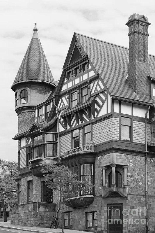 Rhode Island School Of Design Carr Haus Print by