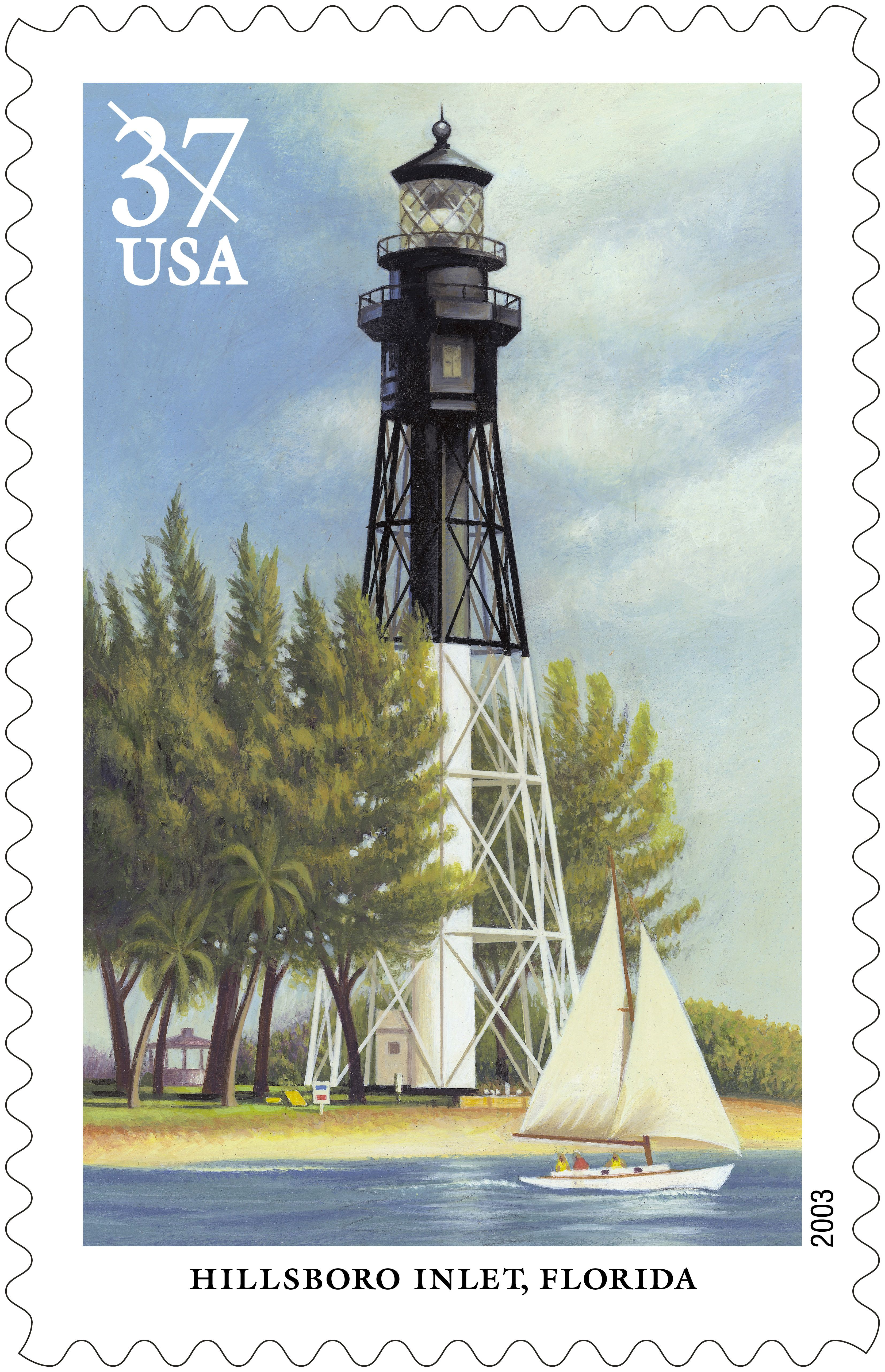 The Hillsboro Inlet Lighthouse Was Built In Detroit Michigan - Michigan location in usa