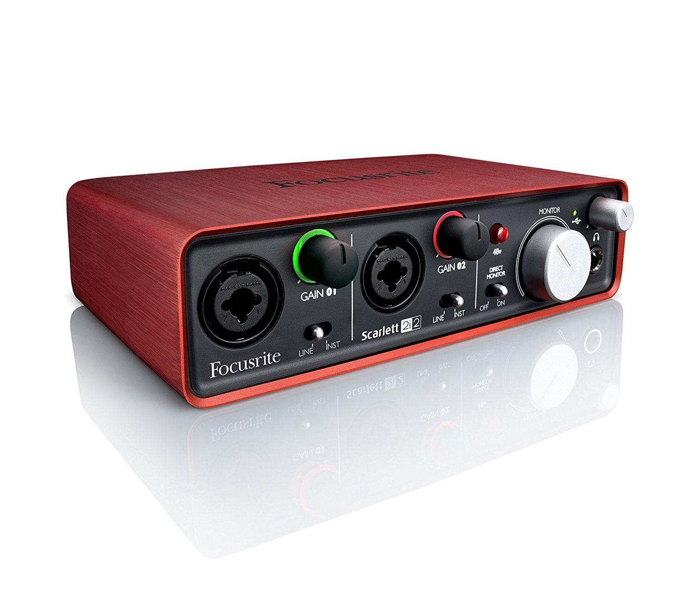 Focusrite Scarlett 2i2 (1st GENERATION) USB Recording Audio