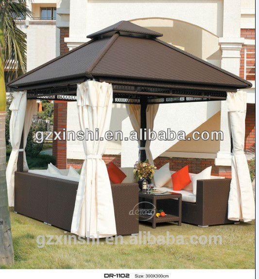 Inicio glorieta jardín, al aire libre Muebles del patio
