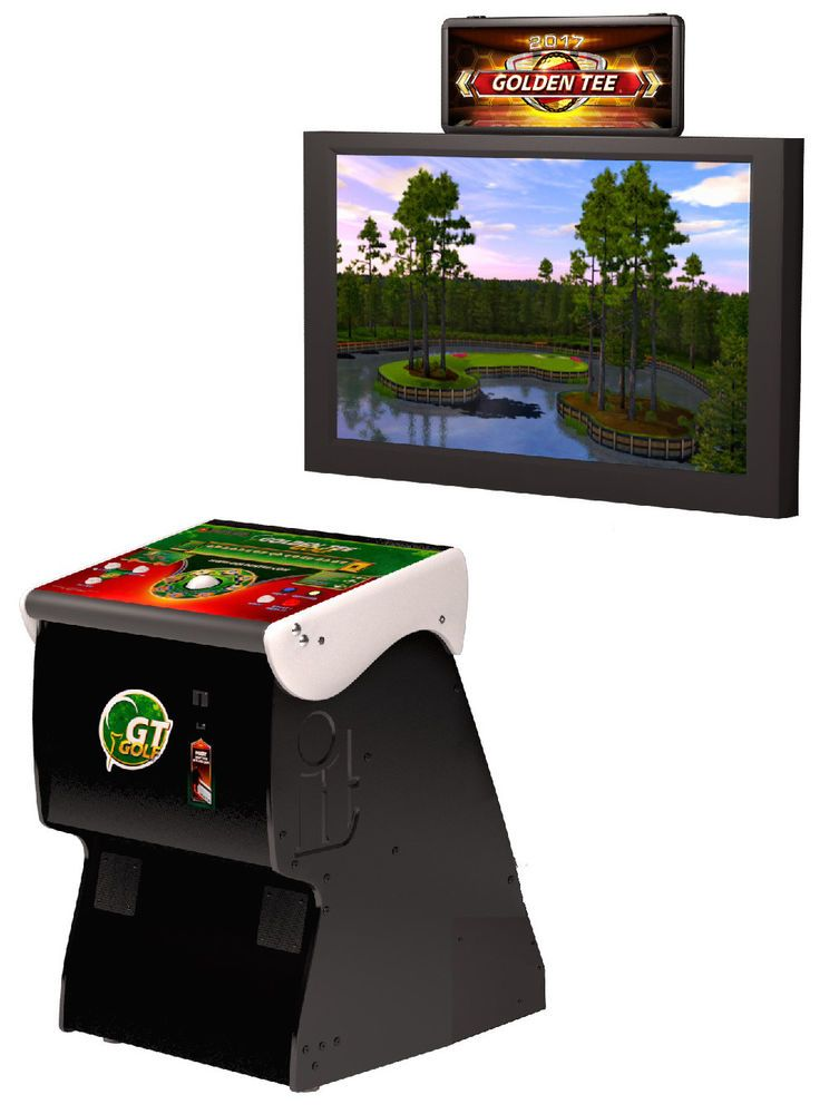 Details about Incredible Technologies 2020 Home Golden Tee