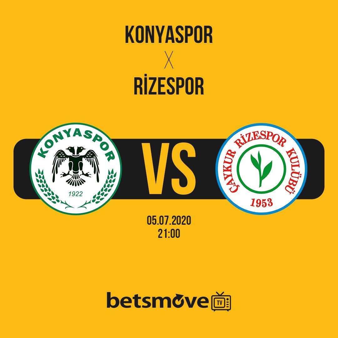Konyaspor Rizespor Canli Izle 2020 Izleme Mac Spor
