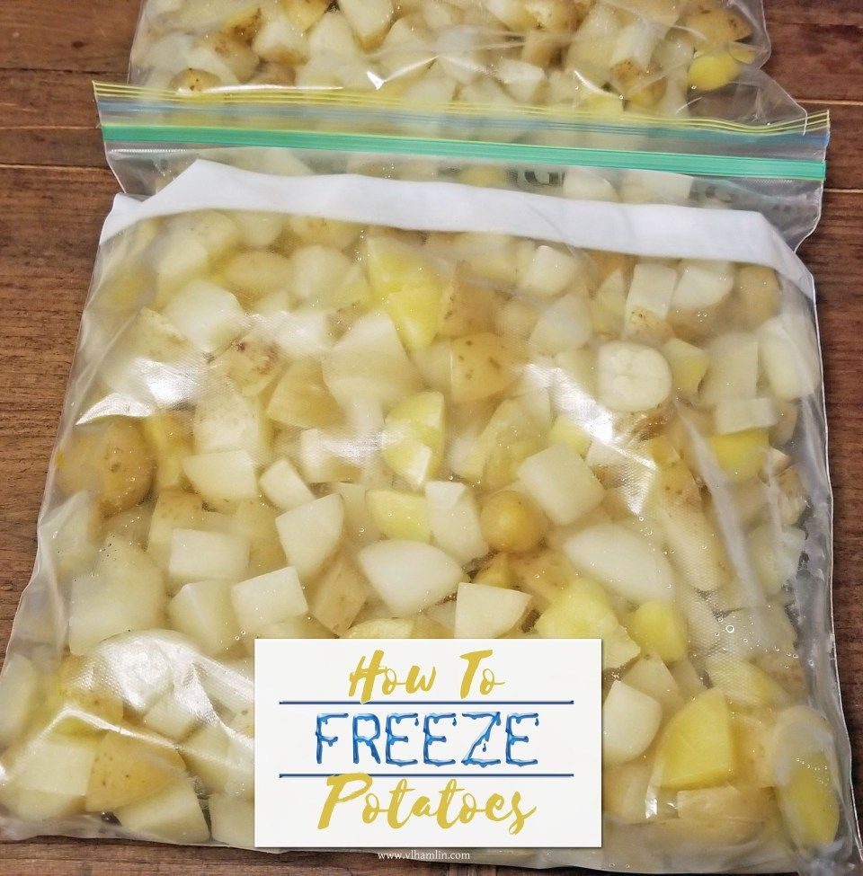 How to freeze potatoes like a pro frozen potatoes