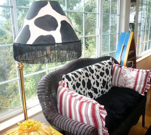 Cow print lamp shade classroom organization pinterest cow cow print lamp shade aloadofball Gallery