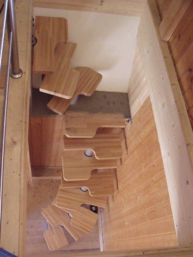 escalier interieur peu encombrant