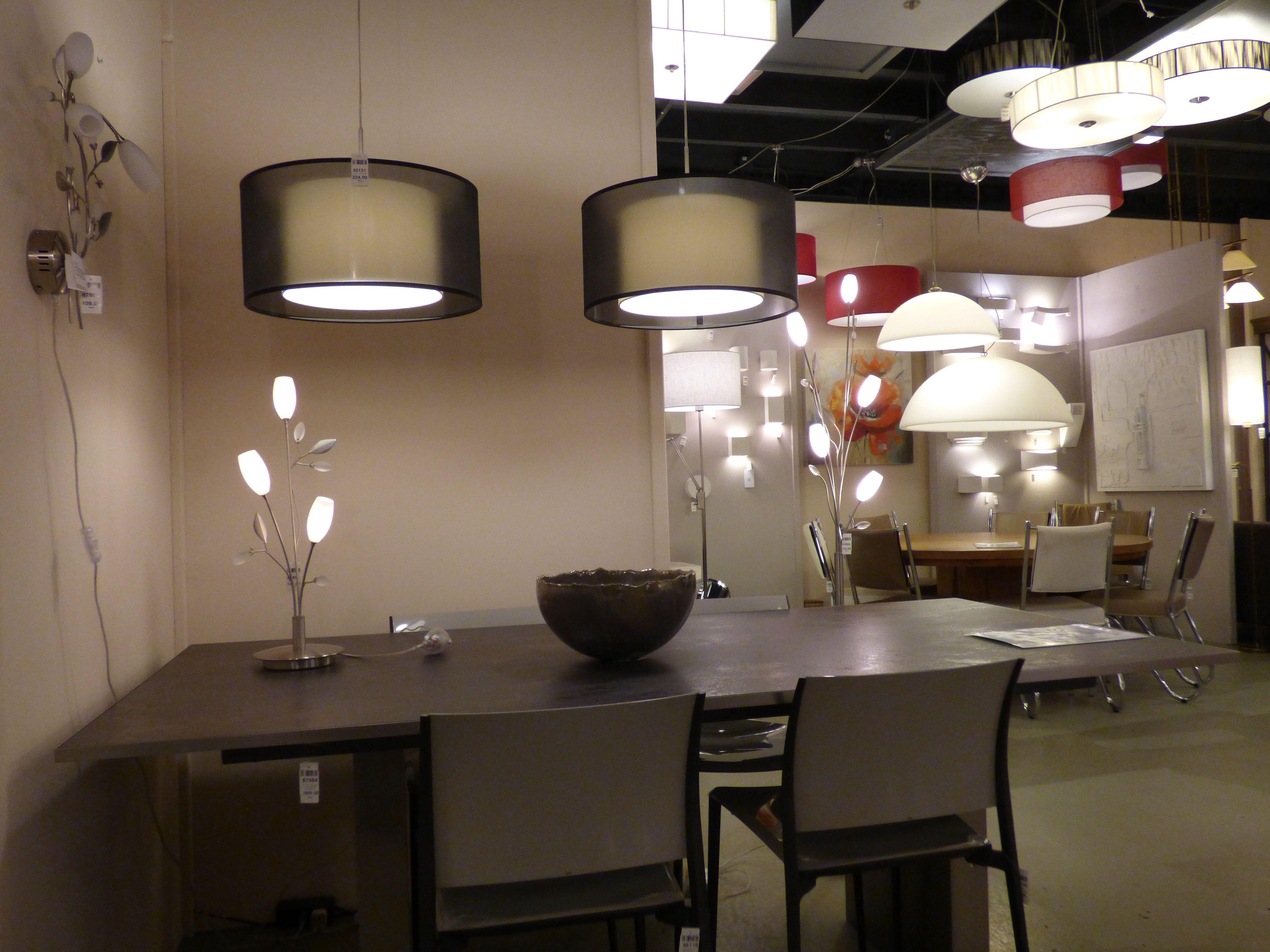 Iluminaci n tienda l mparas para sala decoraci n - Lampara para comedor techo ...