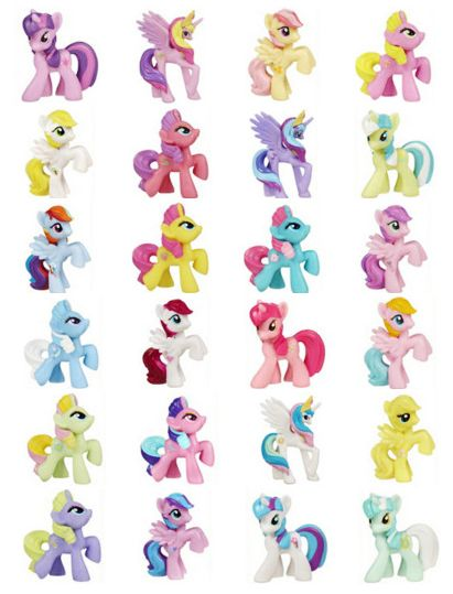 My Little Pony Friendship Is Magic Blindbag figures G4