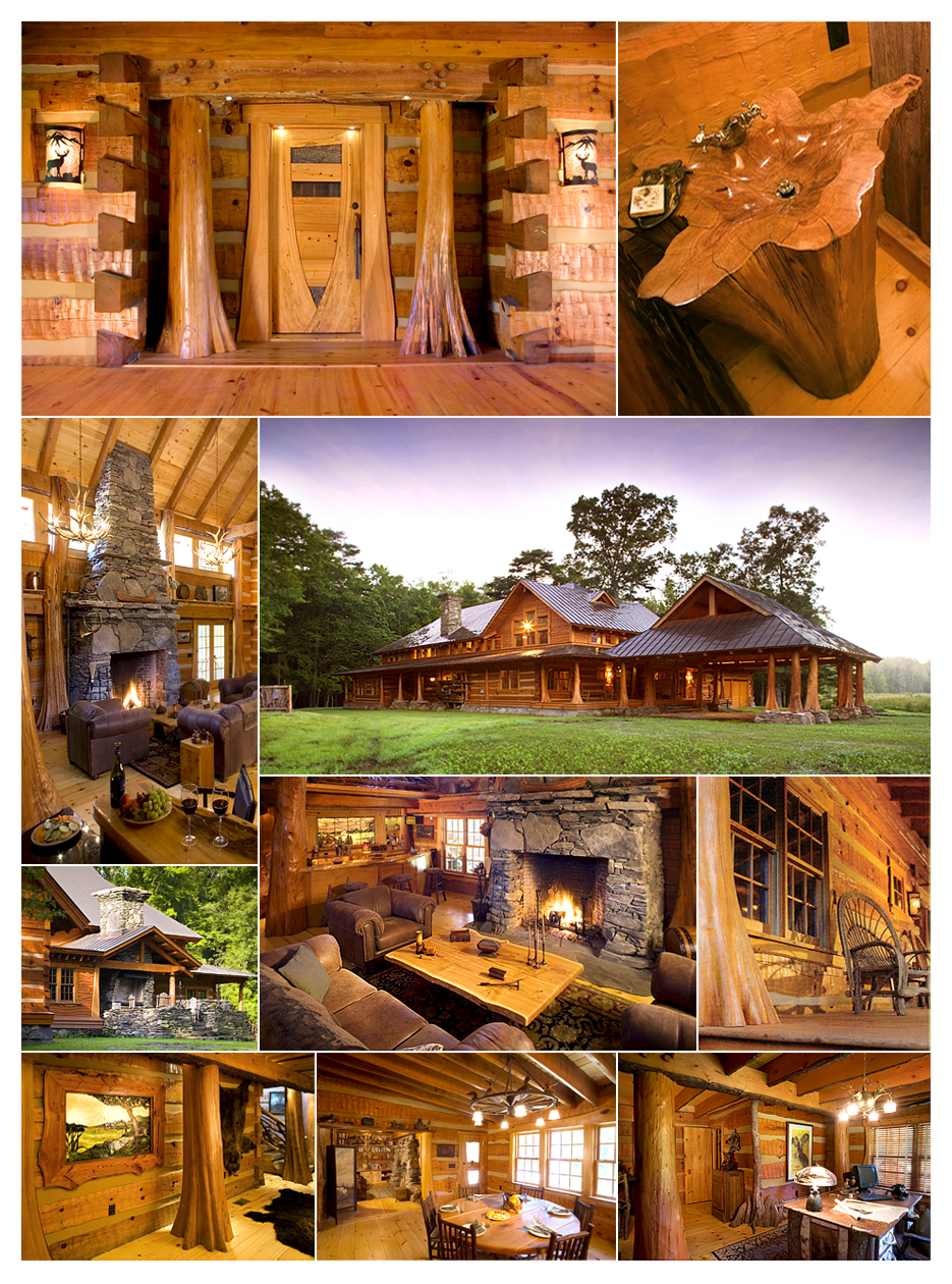Hearthstone Homes Hand Hewn Projects The Covert Family Home Log Cabin Homes Cabin Homes Mountain House Plans