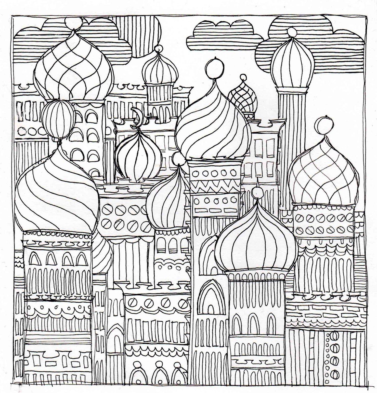 Alessas Blog: Malbild: Onion Turret World - https://me.pin-autos