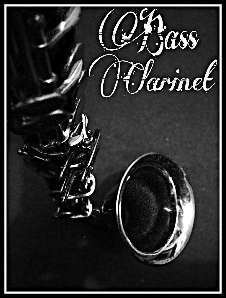 Self Made Bass Clarinet Wallpaper Art