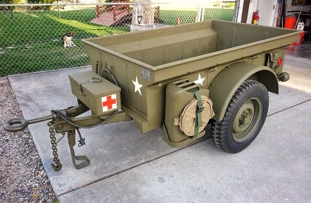 Willys Jeep Trailer Jeep Trailer Willys Jeep Military Jeep