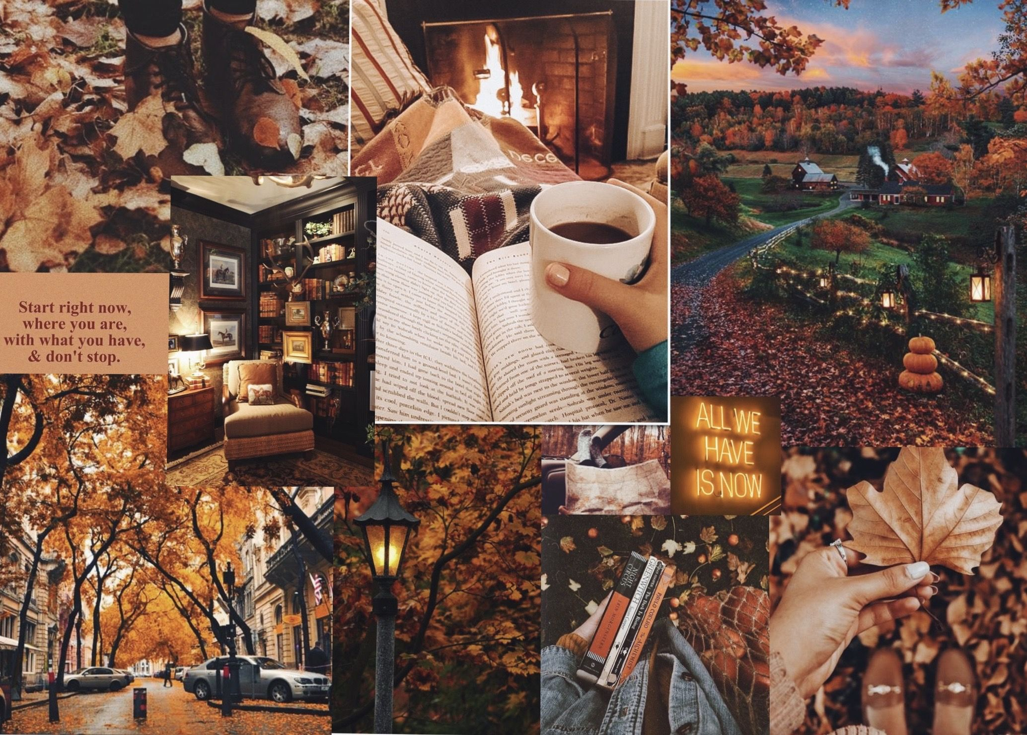 23+ Cozy Cute Fall Desktop Wallpaper Gif